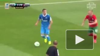 Зенит победил Локомотив со счетом 2:1