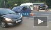 ДТП на Дороге Жизни: в результате столкновения одна из машин вылетела на остановку
