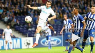Решающий гол Кержакова в матче Зенит-Порту дал надежду на успех (видео)