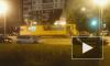 Ночью в Петербурге горели три машины и трамвай