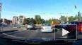Видео: начинающий водитель сбил велосипедиста на Выборгс...