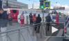 На перекрестке Бухарестской и Салова фура перевернула скорую помощь