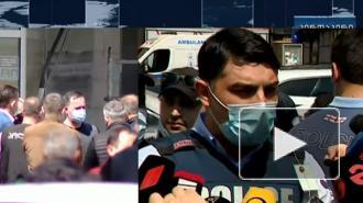 Полиция задержала захватившего заложников в здании банка в Тбилиси