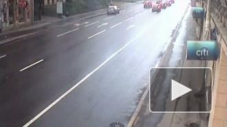ДТП с участием пяти машин на Большом проспекте П.С.