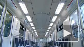 """Первый состав поезда """"НеВа"""" поступил в петербургскую подземку"""