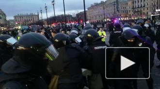 В МВД объяснили применение электрошокера при задержаниях в Петербурге