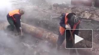 В Петербурге 500 домов остались без горячих батарей в крещенские морозы
