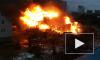 В поселке Новоселье Ленобласти загорелись два дома