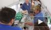 В Петербург спецбортом доставили на лечение больных детей