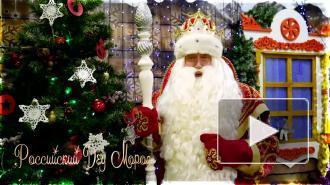 Дед Мороз и Йоулупукки поздравили жителей Выборгского района с Новым годом