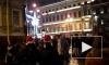 Новый год в Петербурге: без еды и туалетов на затопленных улицах