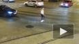 На улице Марата попала на видео необычная драка между ...