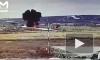 Появилось видео с моментом крушения военного вертолета Ми-8 в аэропорту Чукотки