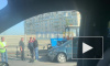 На Дунайском путепроводе столкнулись три легковушки и трактор