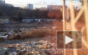 Снос 7000 гаражей в Москве (Красный Строитель - Покровское)