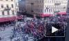 Первомайская колонная прошлась по Невскому проспекту: фото и видео