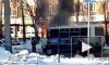 Видео: в Тольятти старенький ПАЗик сгорел на улице Дзержинского