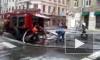 В Петербурге на Большом проспекте П. С. горит жилой дом