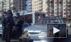 Полицейский автомобиль попал в опасное ДТП на проспекте Ветеранов