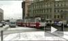 Трамвай протащил пешехода по улице Коллонтай