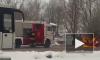 Появилось видео, как в Подмосковье полыхает микроавтобус с пассажирами внутри