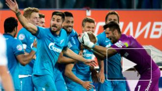 Игроки Зенита не стали общаться после победы над Динамо