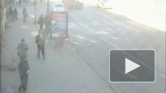 Вылетел! Столкновение на Невском проспекте