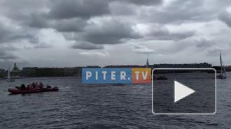 У Петропавловской крепости проходит Парусная Лига Чемпионов Европы