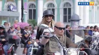 Украинские байкеры едут на фестиваль в Петербург с белорусами