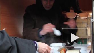 Петербургские благотворители готовят бездомных к зиме