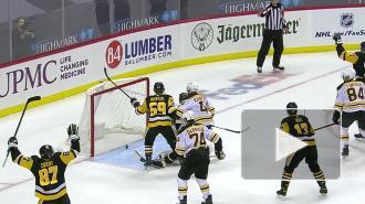 """""""Питтсбург"""" обыграл """"Бостон"""" в домашнем матче НХЛ"""
