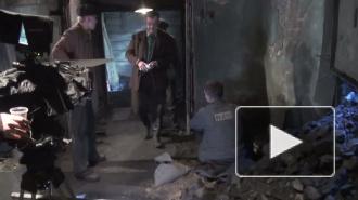 Актер Игорь Петренко измазался в угле. В котельной снимают кино