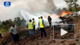В результате крушения самолета ВВС Нигерии погибли ...