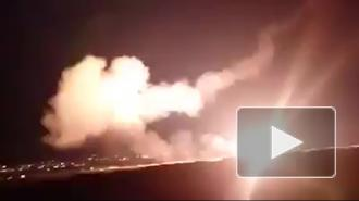 СМИ: ВВС Израиля атаковали позиции сирийской армии к югу от Дамаска