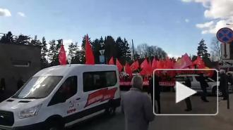 Первомайское шествие коммунистов прошло во Всеволожске