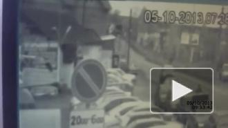 Внедорожник в Сыктывкаре разбил 10 авто: чудом обошлось без жертв