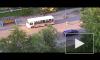 Видео: автомобиль сбил девочку на пешеходном переходе в Петрозаводске