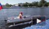"""На """"Солнечной регате"""" в Петербурге показали яхты на солнечных батареях"""