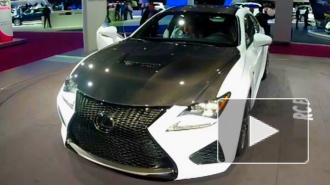 """""""Парижский автосалон 2014"""": шикарный Lexus RC F"""