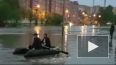 Благовещенск ушел под воду после ливня, который побил ...