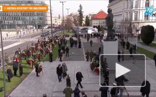 В Польше проходят памятные мероприятия по случаю 11-й годовщины катастрофы под Смоленском
