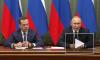 Путин рассказал об обсуждении с Медведевым отставки его правительства