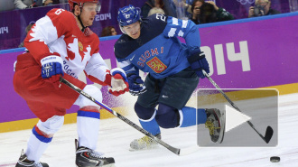 Хоккей Сочи 2014: Россия проигрывает Финляндии после первого периода