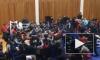 Массовая потасовка на ринге болельщиков на чемпионате по ММА в Дагестане попала на видео
