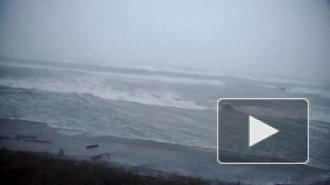 Мощный ураган Ксавьер ударил по России
