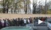 В Петербурге сотни тысяч людей идут поклониться Поясу Богоматери