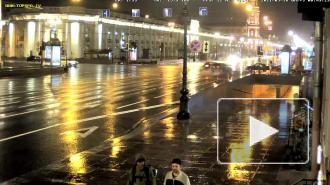 Ночью в Петербурге столкнулись машины из-за неработающего светофора