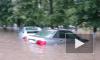 Сильнейший ливень вызвал потоп в подмосковном Одинцово
