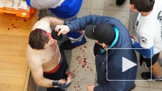 Видео: «месилово» краснодарцев с дагестанцами во время боев без правил