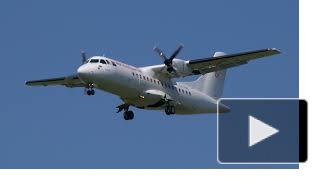 Неисправный пассажирский самолет ATR-42 вынужденно сел в Тюмени